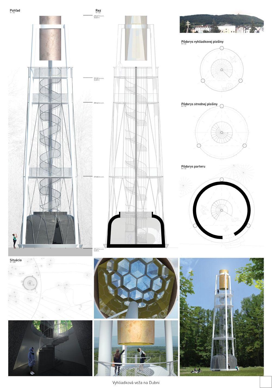 Súťažné návrhy Výhliadková veža na Dubni, foto 40