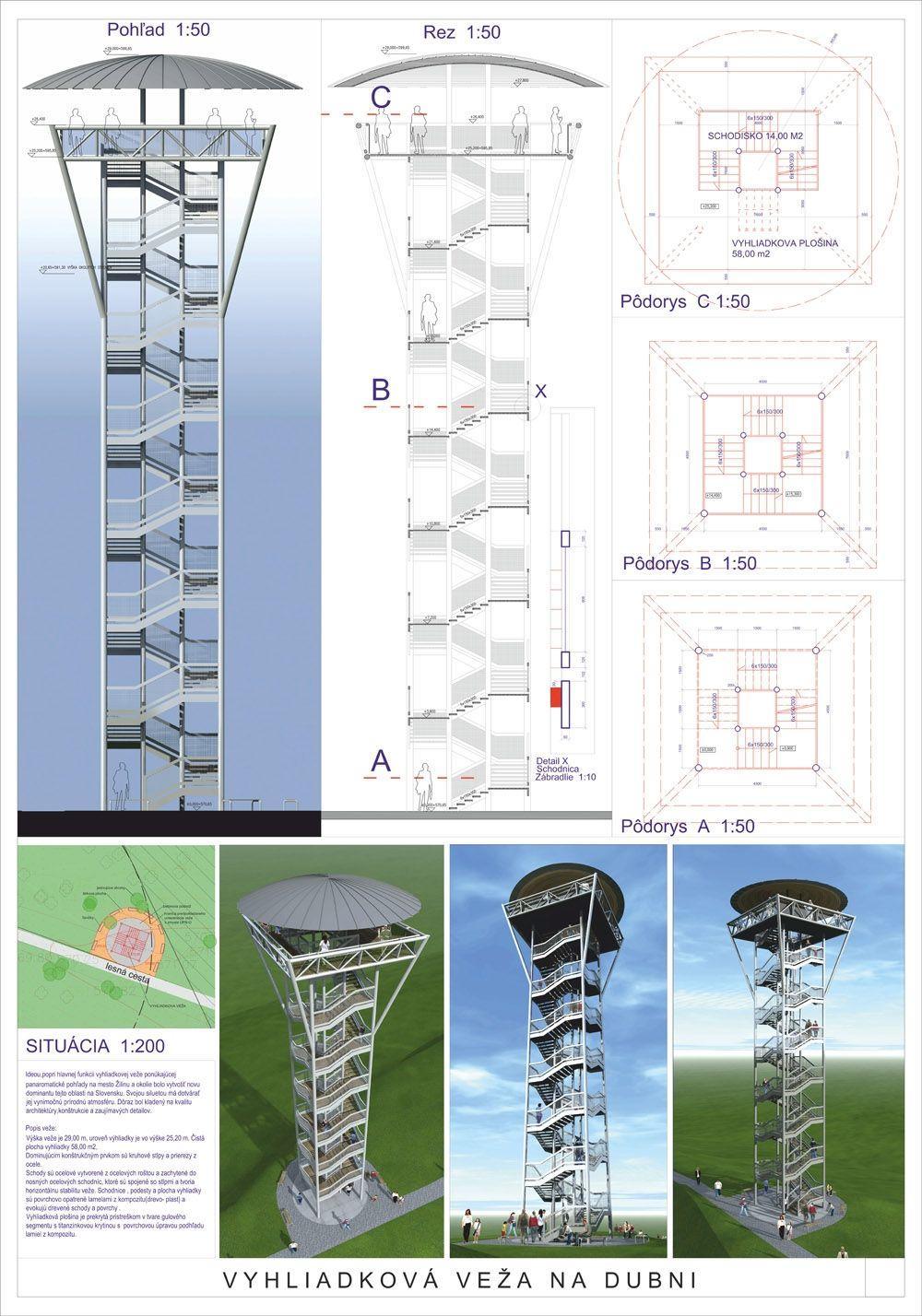 Súťažné návrhy Výhliadková veža na Dubni, foto 41