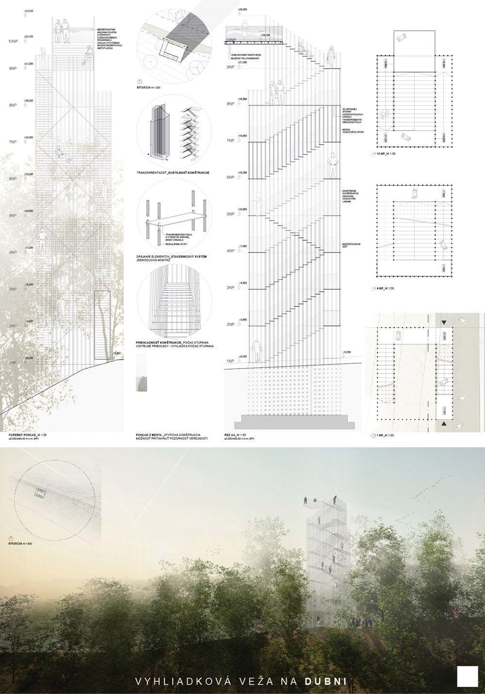 Súťažné návrhy Výhliadková veža na Dubni, foto 42