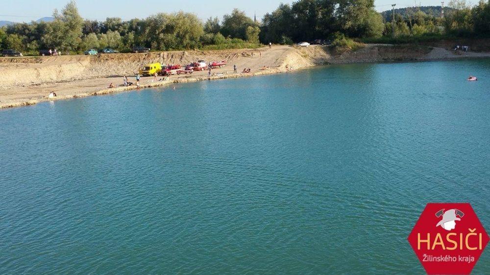 Na Lipoveckých jazerách vo Vrútkach sa utopil muž, foto 1