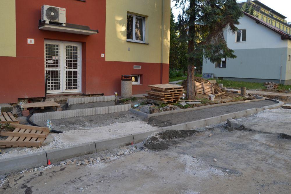 Rekonštrukcia - internáty Žilina, Hliny, foto 2