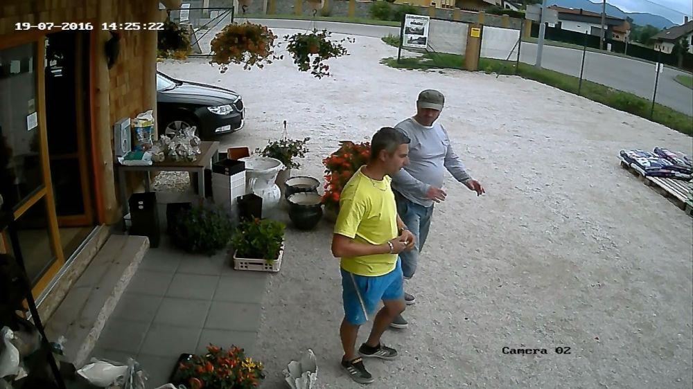 Krádež v záhradníctve v Rajeckých Tepliciach, foto 3