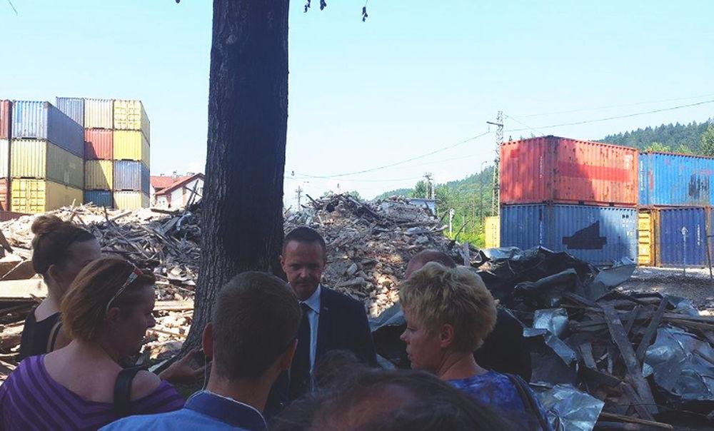 Brífing k zbúraniu budovy na ulici Bratislavská 52, foto 2