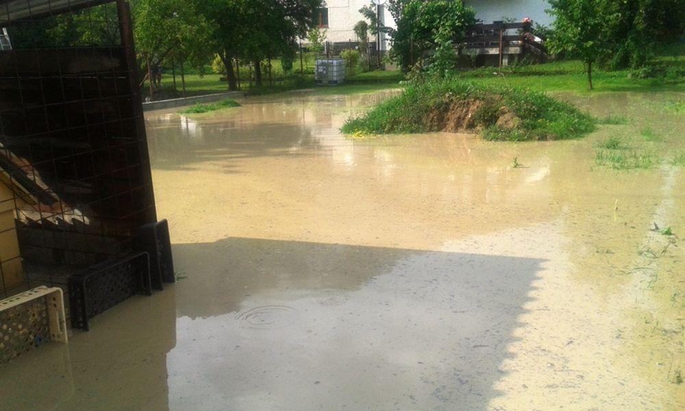 Lokálna povodeň v Žiline - Vranie, foto 1