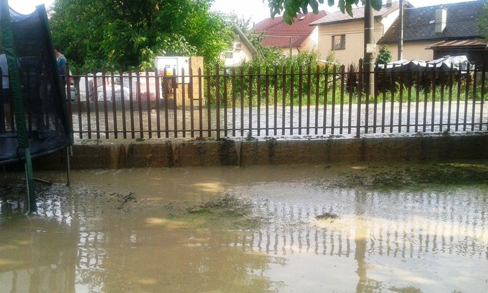 Lokálna povodeň v Žiline - Vranie, foto 2