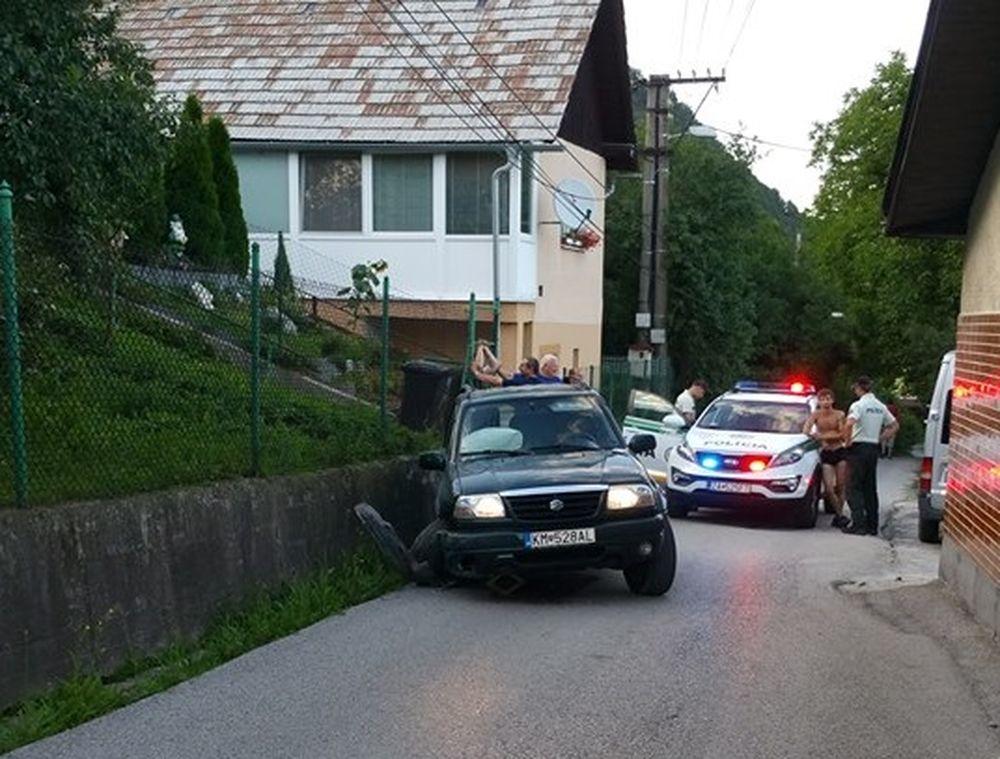 Vo vraní nabúral opitý vodič, foto 3