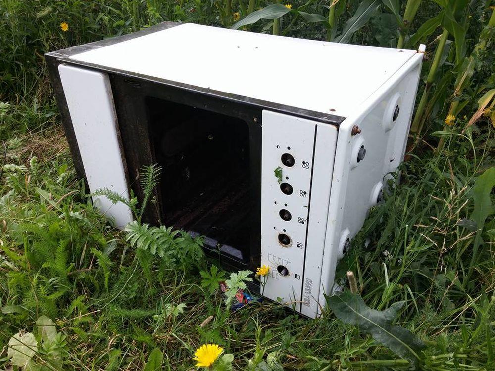 Elektroodpad v prírode v Trnovom, foto 3