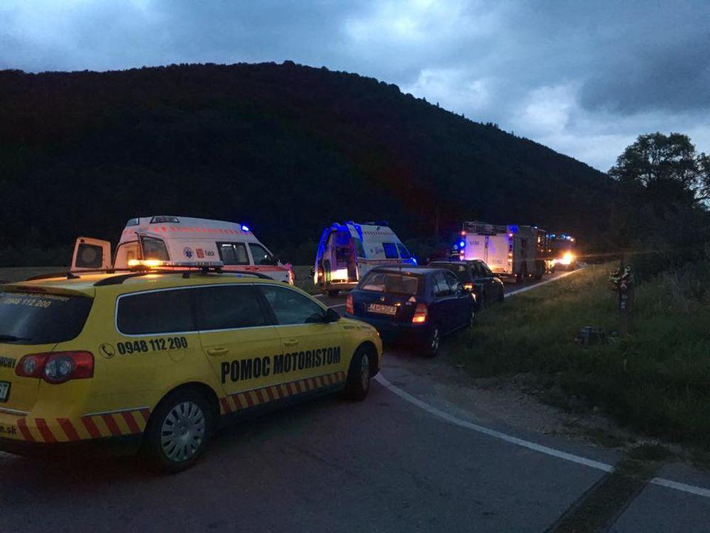 Dopravná nehoda Krasňany 09.08.2016, foto 2