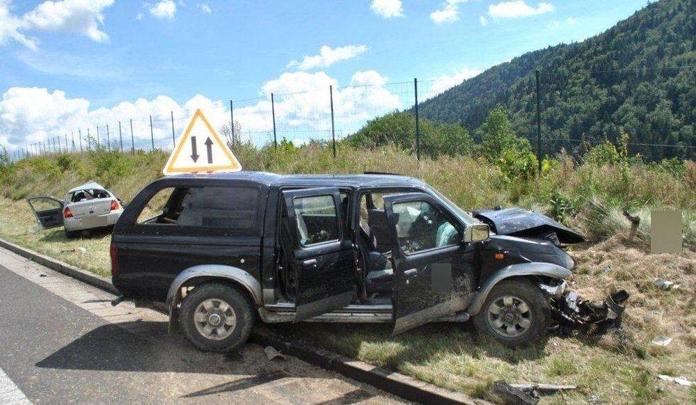 Tragická dopravná nehoda 14.8.2016, foto 1