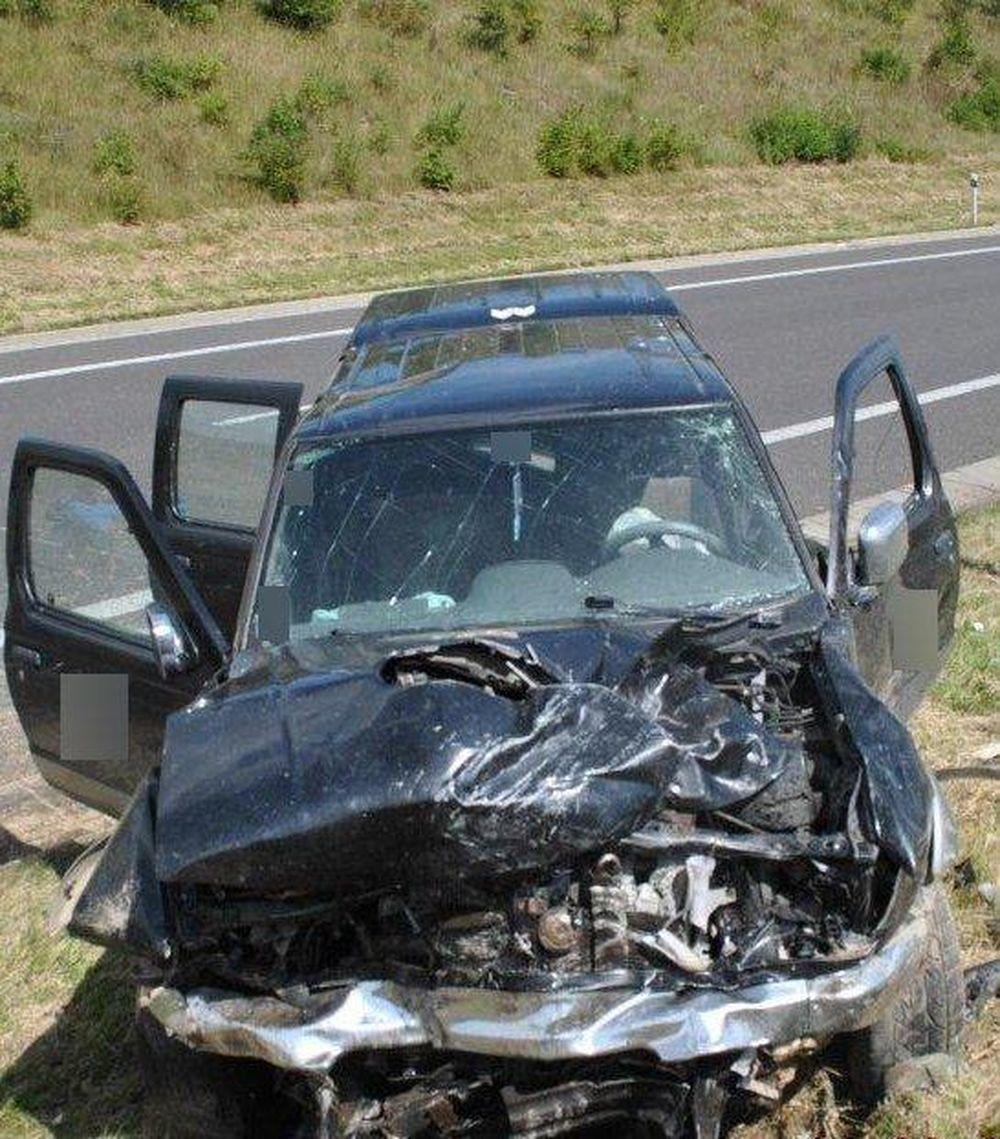 Tragická dopravná nehoda 14.8.2016, foto 2