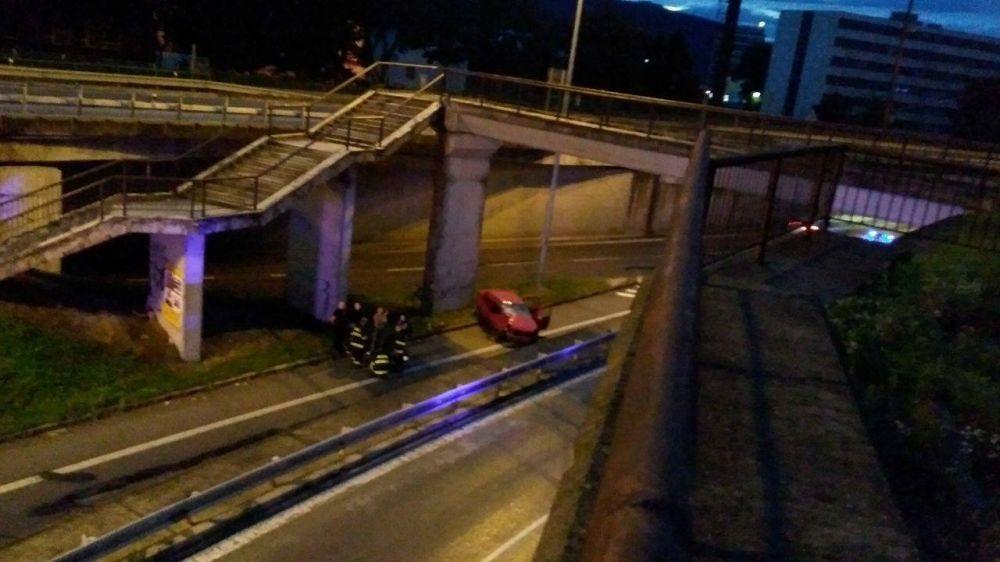 Dopravná nehoda Mostná - 21.8.2016, foto 1