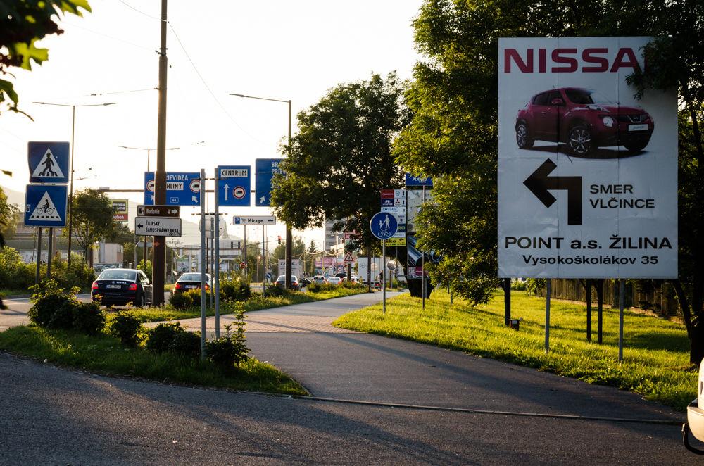 Reklamné pútače Košická ulica 24.8.2016, foto 4