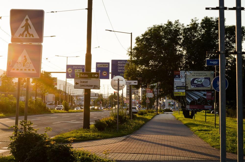 Reklamné pútače Košická ulica 24.8.2016, foto 6