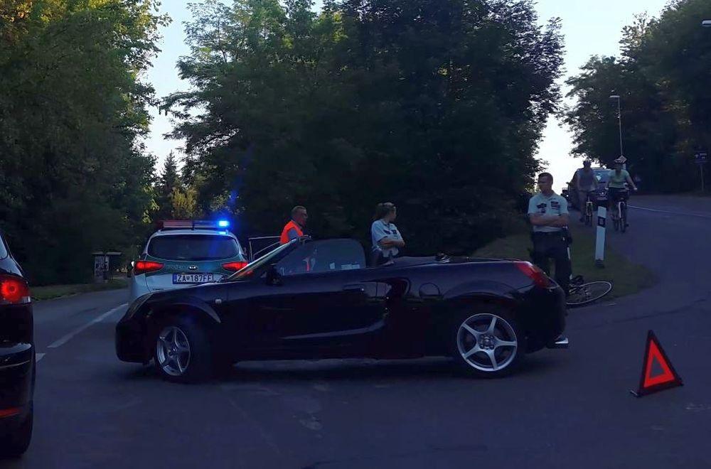 Dopravná nehoda Rosinská cesta - 8.9.2016, foto 2