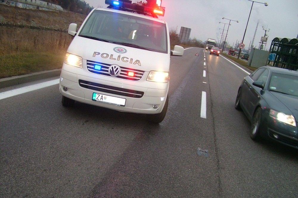 Dopravná nehoda cyklistu a osobného auta, foto 2