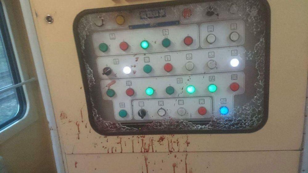 Výtržník vo vlaku na stanici v Žiline, foto 3