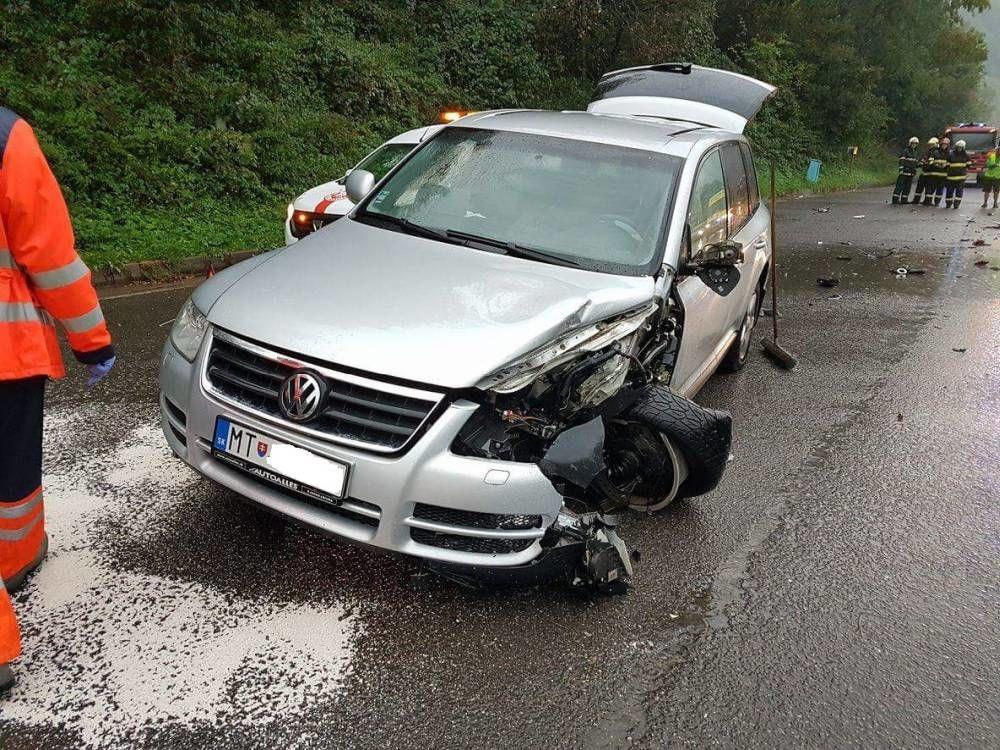 Dopravná nehoda pod Strečnom - 17.9.2016, foto 3