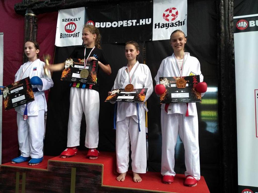 Žilinčania sa umiestnili na stupňoch víťazov na majstrovstvá Európy v karate, foto 2