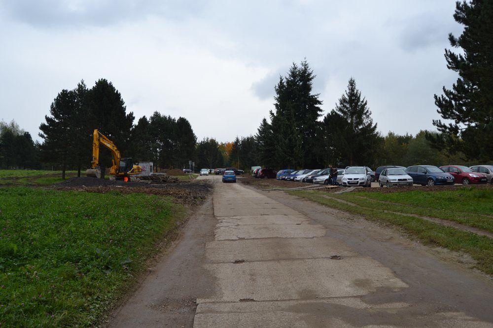 Práce na rekonštrukcii parkoviska v areáli žilinskej nemocnice, foto 10