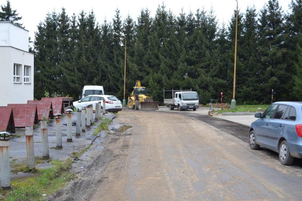 Práce na rekonštrukcii parkoviska v areáli žilinskej nemocnice, foto 8