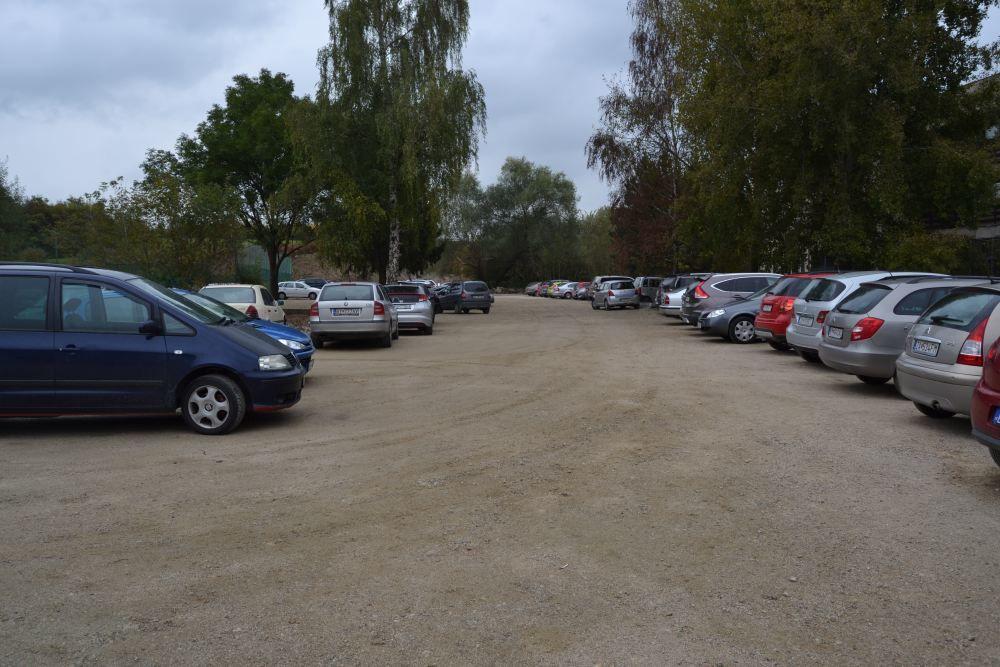 Práce na rekonštrukcii parkoviska v areáli žilinskej nemocnice, foto 13