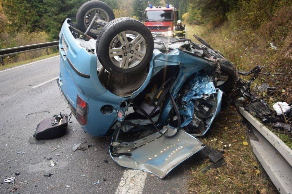 Tragická dopravná nehoda pri Ružomberku, foto 1