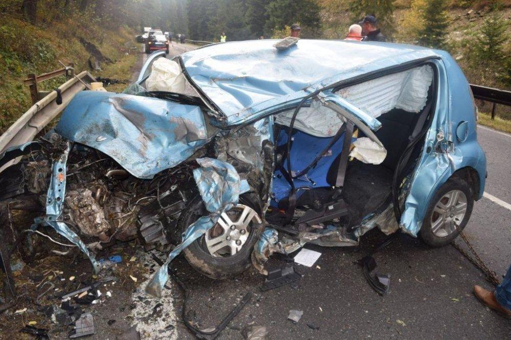 Tragická dopravná nehoda pri Ružomberku, foto 2