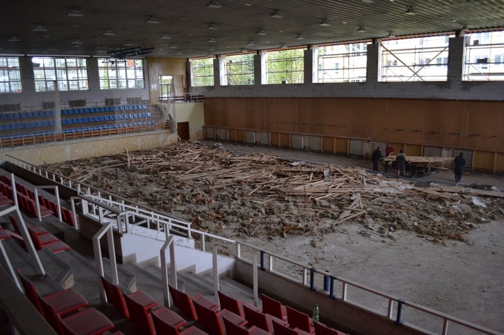 Žilinský kraj rekonštruuje športovú halu na Rosinskej ceste, foto 1