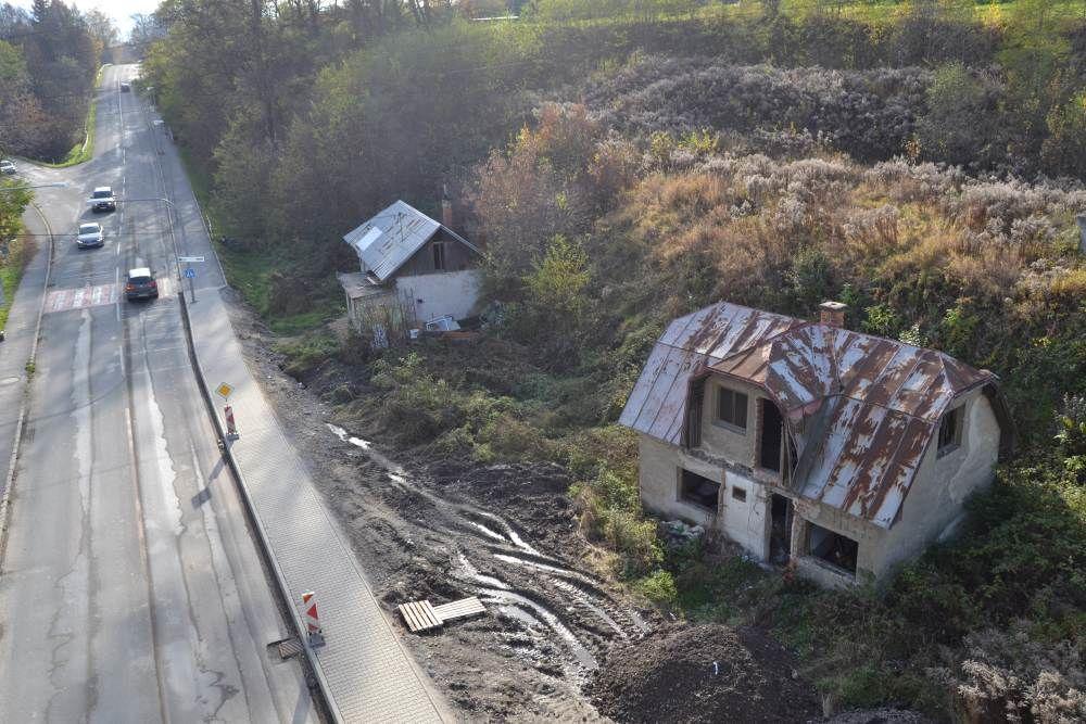 Staré opustené domy na Rosinskej ceste, foto 1