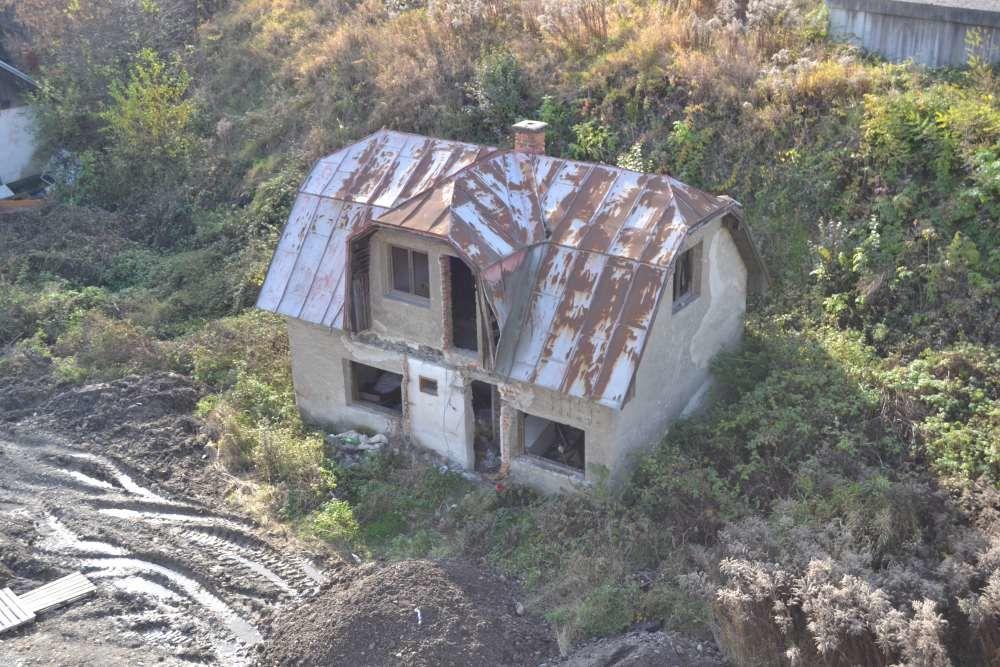 Staré opustené domy na Rosinskej ceste, foto 2