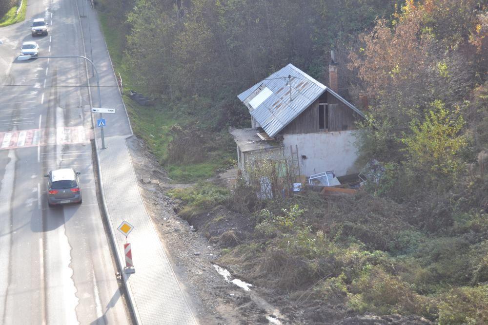 Staré opustené domy na Rosinskej ceste, foto 3