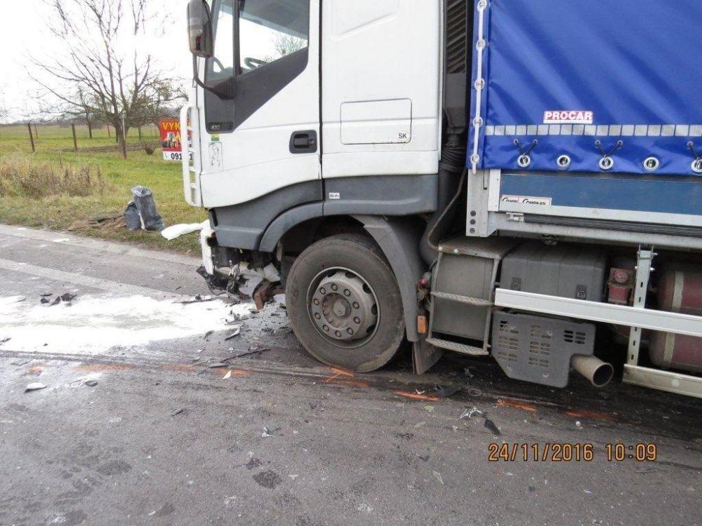 Dopravná nehoda na ceste I/18 - Šibenice, foto 5
