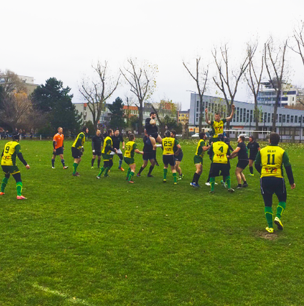 RK Bratislava – Žilina Bears rugby club, foto 1