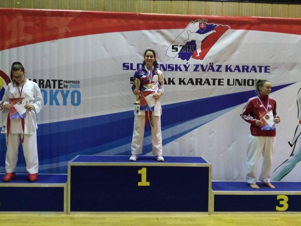 Úspechy Karate klub Žilina Trnava 3.12.2016 - 4.12.2016, foto 1