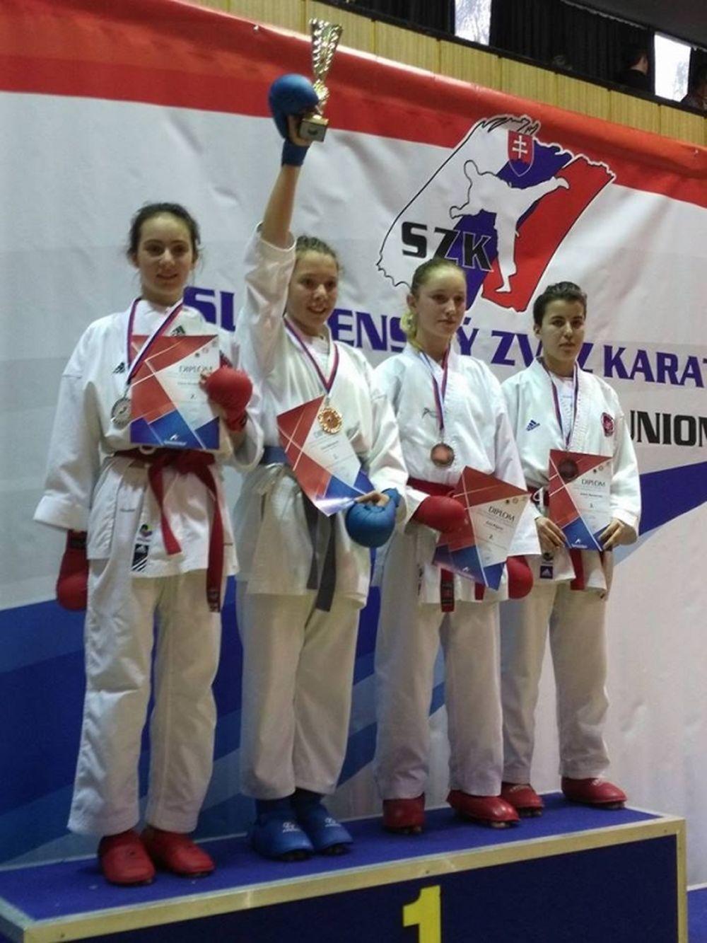 Úspechy Karate klub Žilina Trnava 3.12.2016 - 4.12.2016, foto 5