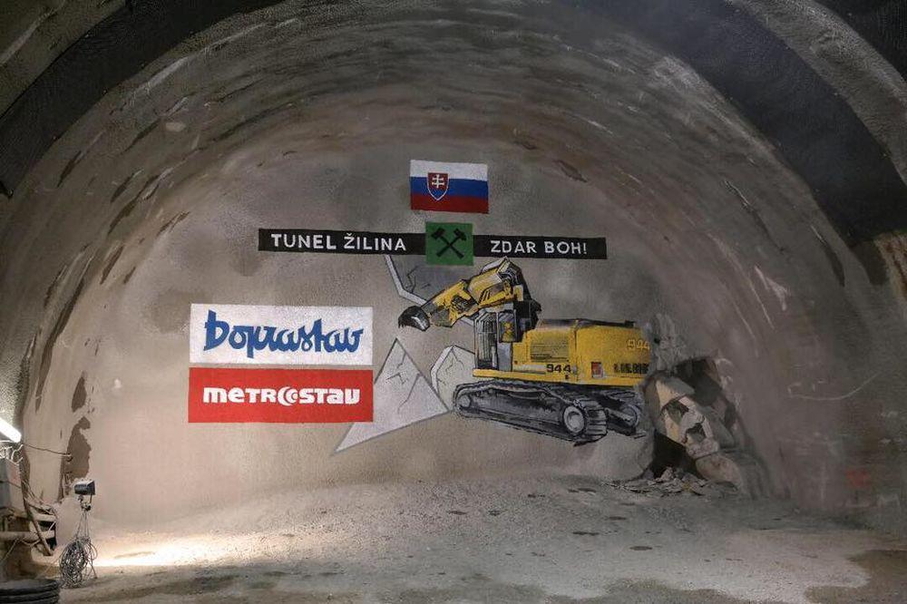 Slávnostné prerazenie tunela Žilina na stavbe D1, foto 3