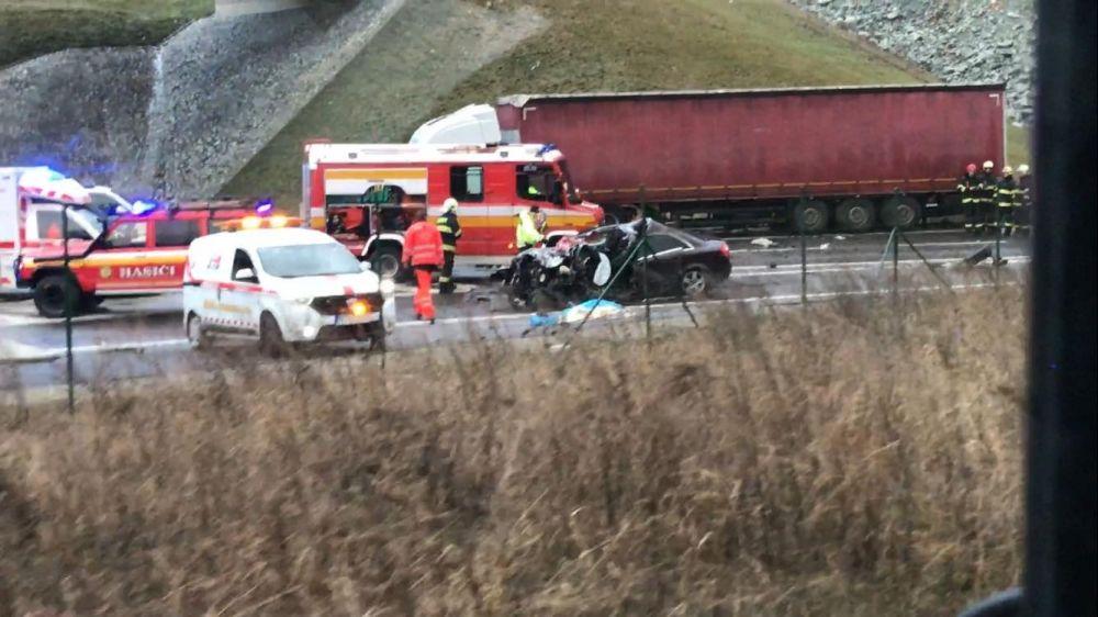 Dopravná nehoda za Vrútkami - 12.12.2016, foto 3