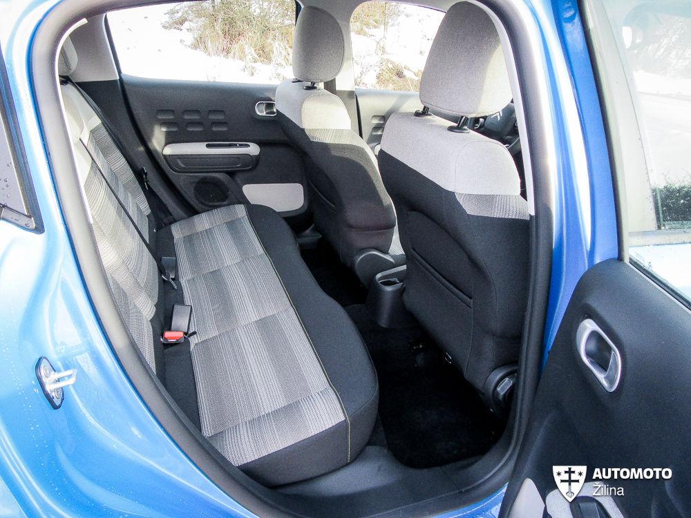 Redakčný test: Citroën C3 1.2 VTi, foto 12