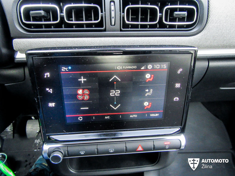 Redakčný test: Citroën C3 1.2 VTi, foto 21