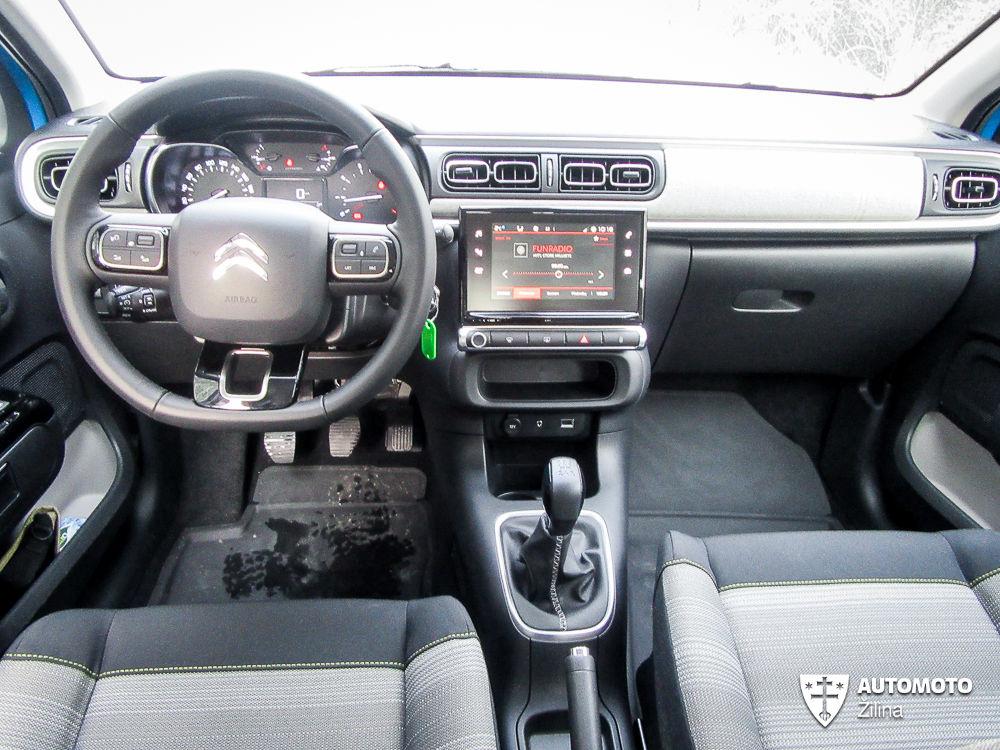 Redakčný test: Citroën C3 1.2 VTi, foto 23