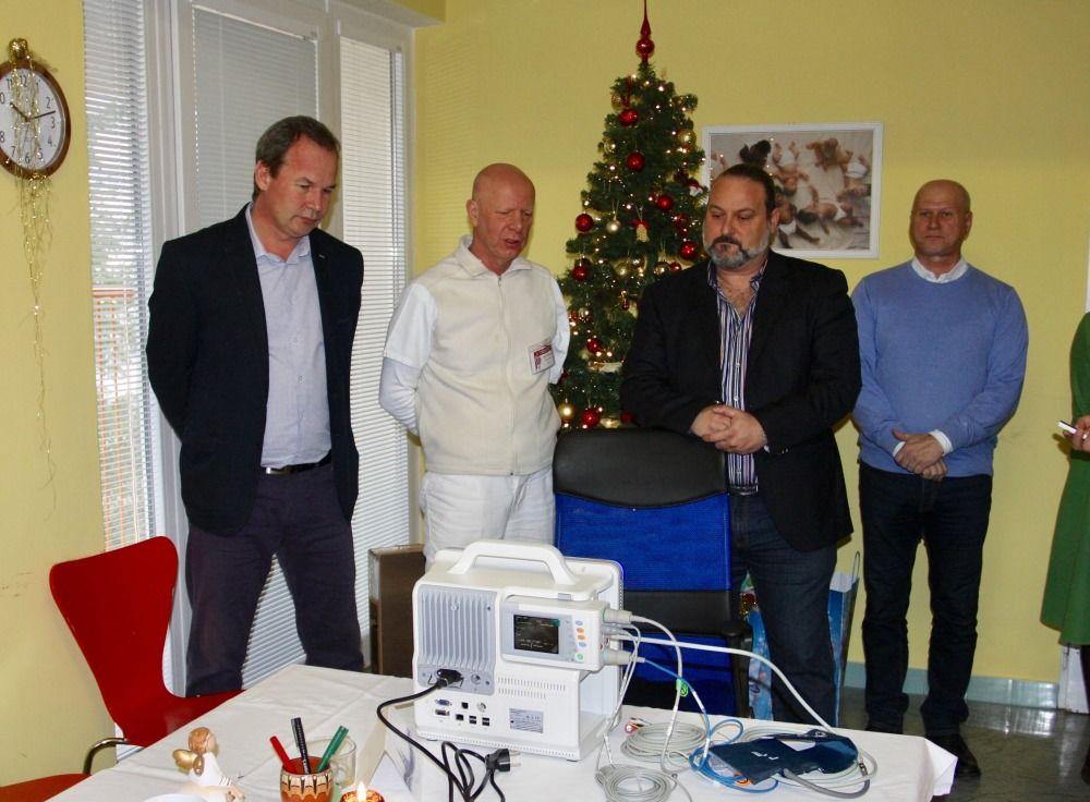 George Trabelssie venoval žilinskej nemocnici prístroje za takmer 19.000 eur, foto 1