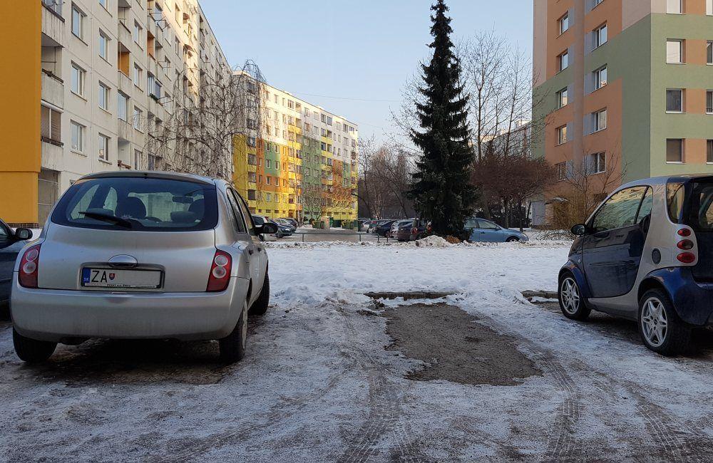 Možné prepojenie ulíc vo vnútri sídliska Solinky, foto 1