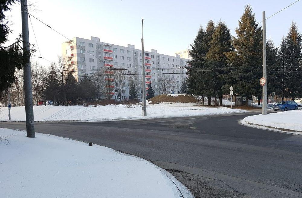 Možné prepojenie ulíc vo vnútri sídliska Solinky, foto 2