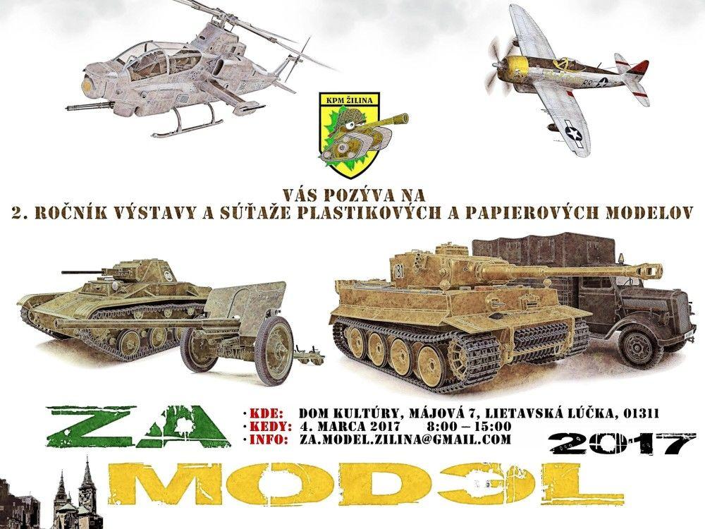 2.ročník súťaže a výstavy plastikových a papierových modelov, foto 1