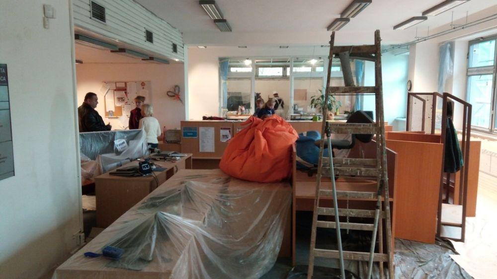 Rekonštrukcia knižnice UNIZA, foto 2