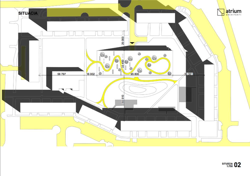 Parkovací dom Osiková ulica - návrh architektonické štúdio Atrium, foto 12