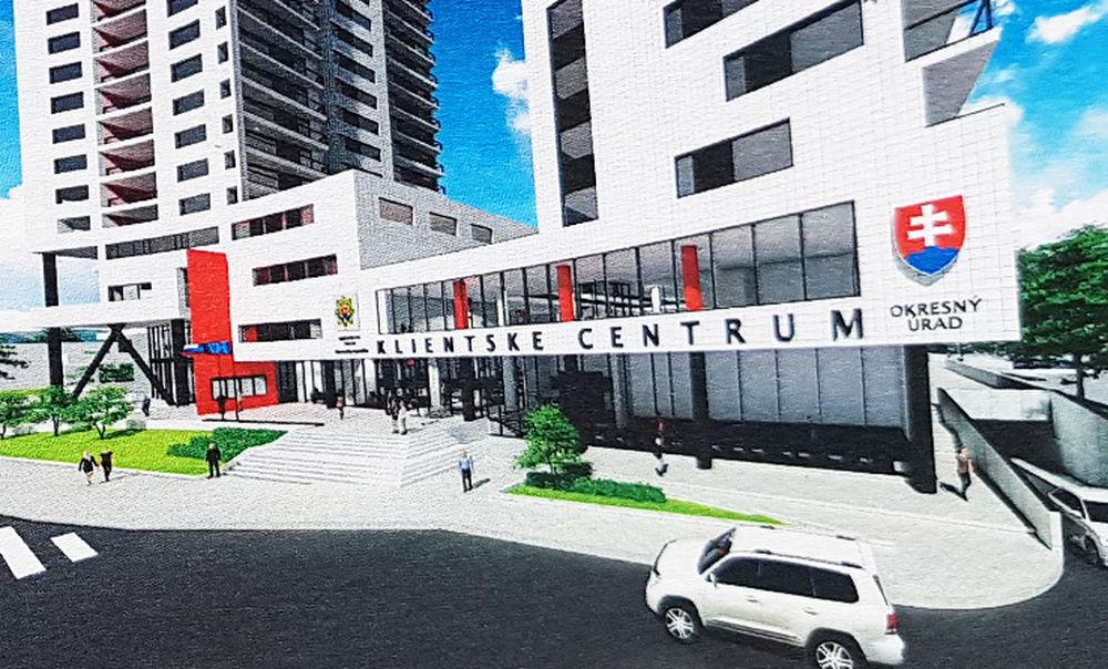 Nové klientske centrum Europalace Žilina, foto 1