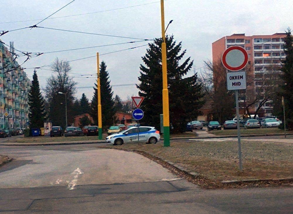 Nové zákazové značky na ulici Matice Slovenskej, foto 4