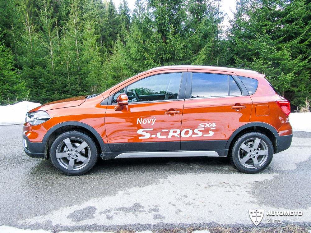 Redakčný test Suzuki SX4 S-Cross, foto 6