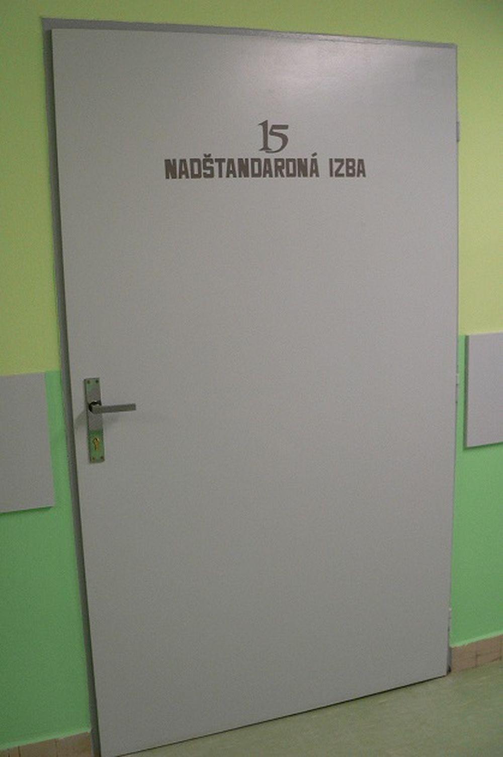 Nadštandardná izba na LDCH vo FNsP Žilina, foto 1